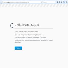 تعطل الاتصال بالإنترنت في الجزائر وجوجل لا يمكن الوصول إليه .
