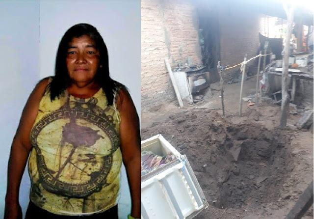 Corpo de mulher desaparecida é encontrado enterrado dentro de uma geladeira em Santa Quiteria-MA