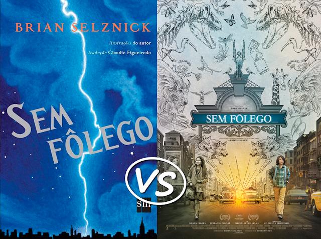 Livro vs Filme: Sem Fôlego