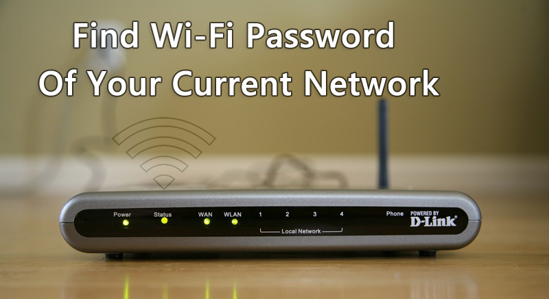 How to Find WiFi Password of Own Network