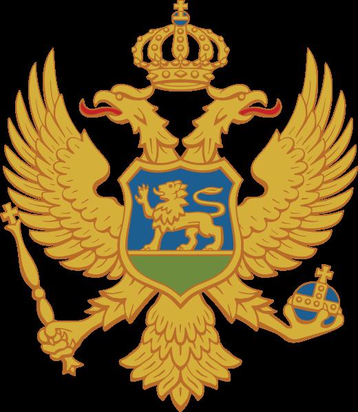 Lambang negara Montenegro