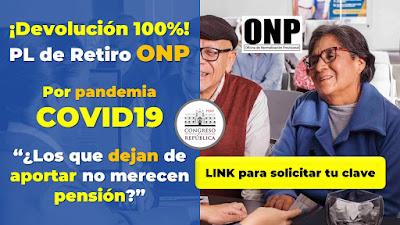 Devolucion del total de aportes ONP por pandemia COVID19