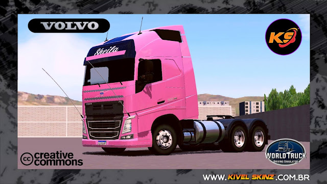 VOLVO FH16 750 - NOVO VOLVO 500 DA SHEILA BELLAVER