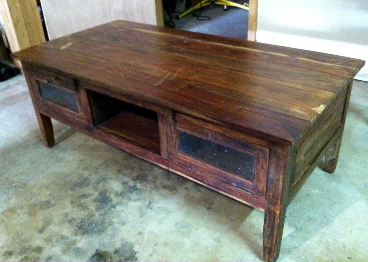 The Murphy's: Craigslist Find: Coffee Table