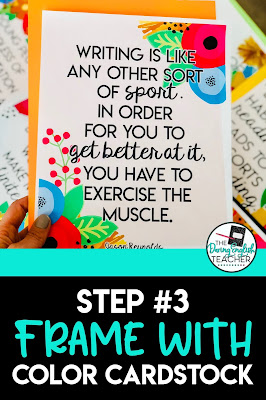 5 Steps to the Perfect Classroom Posters