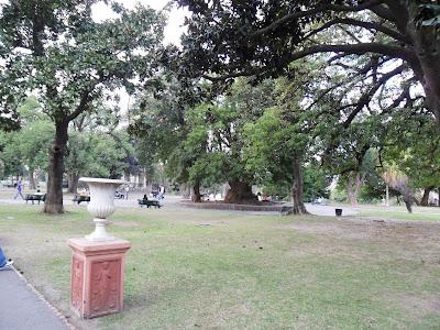 parque Lezame; Buenos Aires; viajando pela America Latina;