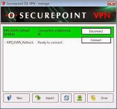 Download Securepoint SSL VPN + Tutorial untuk Internet Gratis