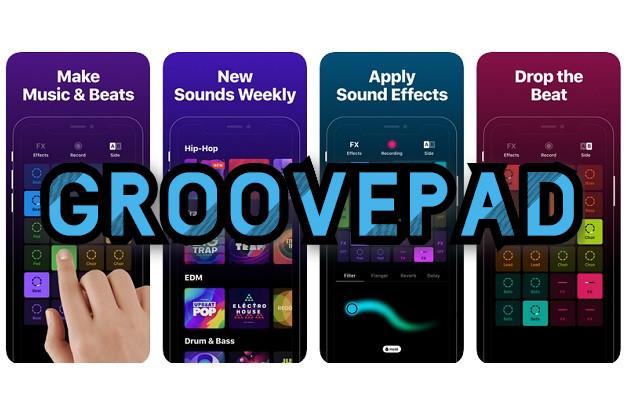 GroovePad - Φτιάξε εύκολα και γρήγορα μουσική στο κινητό σου