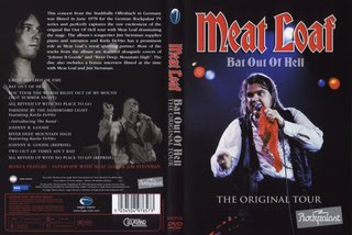 MEAT LOAF - BAT OUT OF HELL - ORIGINAL TOUR - 1978