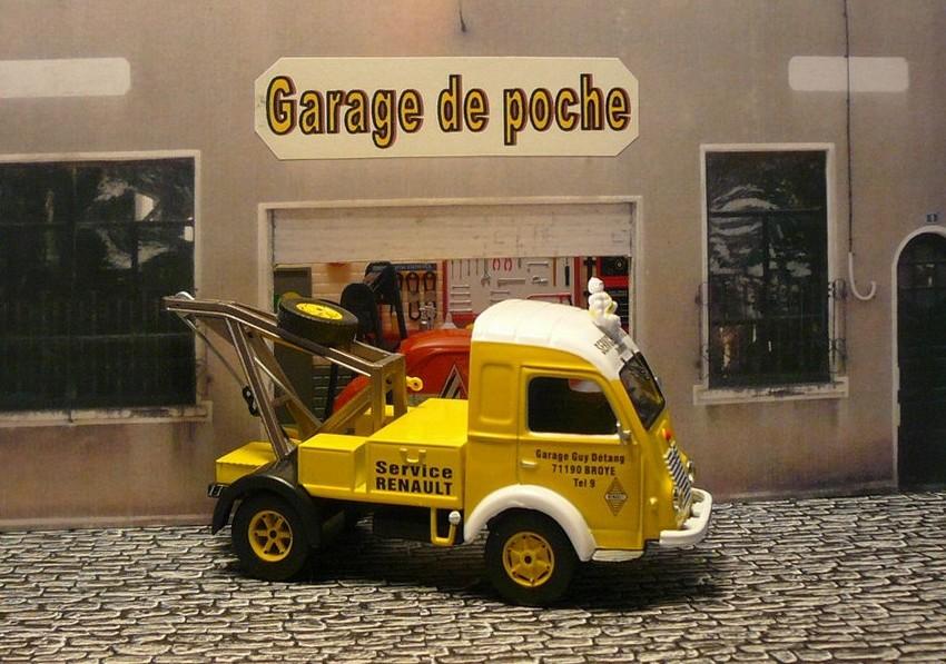 Garage de poche jip renault galion d panneuse altaya for Garage citroen la fleche