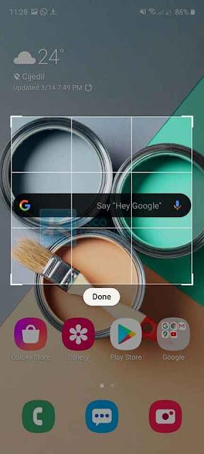 Bagaimana cara screenshot pada hp Samsung Galaxy s20, S20+, S20 Ultra, A50, A51, A10, A11, A70, A71 dengan menggunakan fitur tombol kombinasi, bixby voice, palm swipe, dan smart select terbaru.