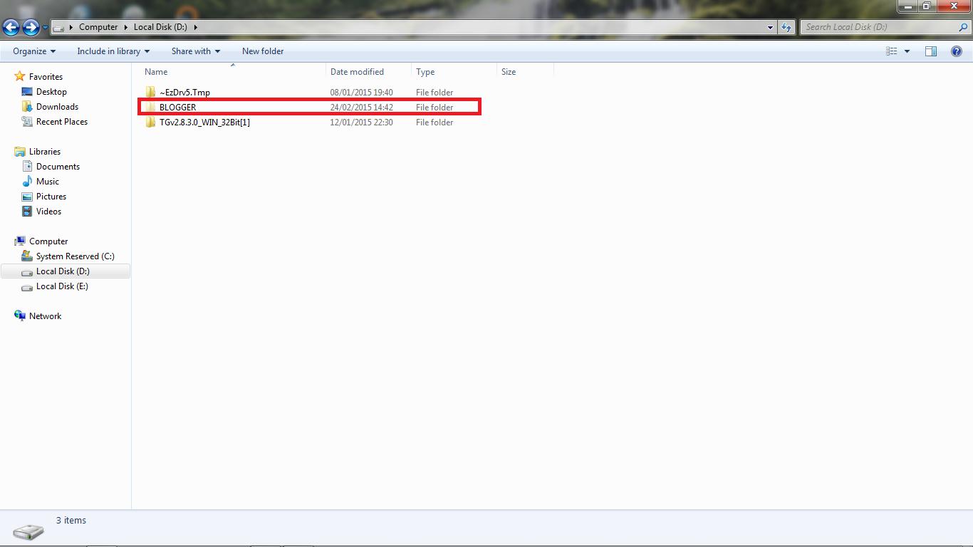 Cara Menyembunyikan File di Windows 7