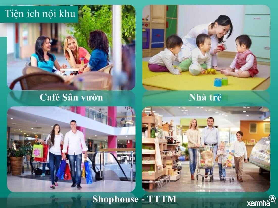 Tiện ích dự án Văn Phú Phạm Hùng