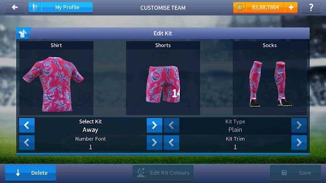 kit daster dream league soccer 2016