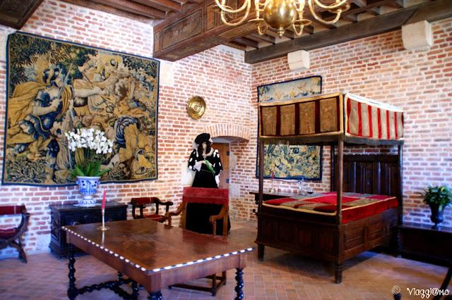 La stanza di Margherita di Navarra al Clos Lucé