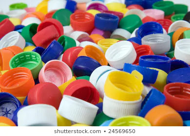 plastic bottle caps with recycle code 5