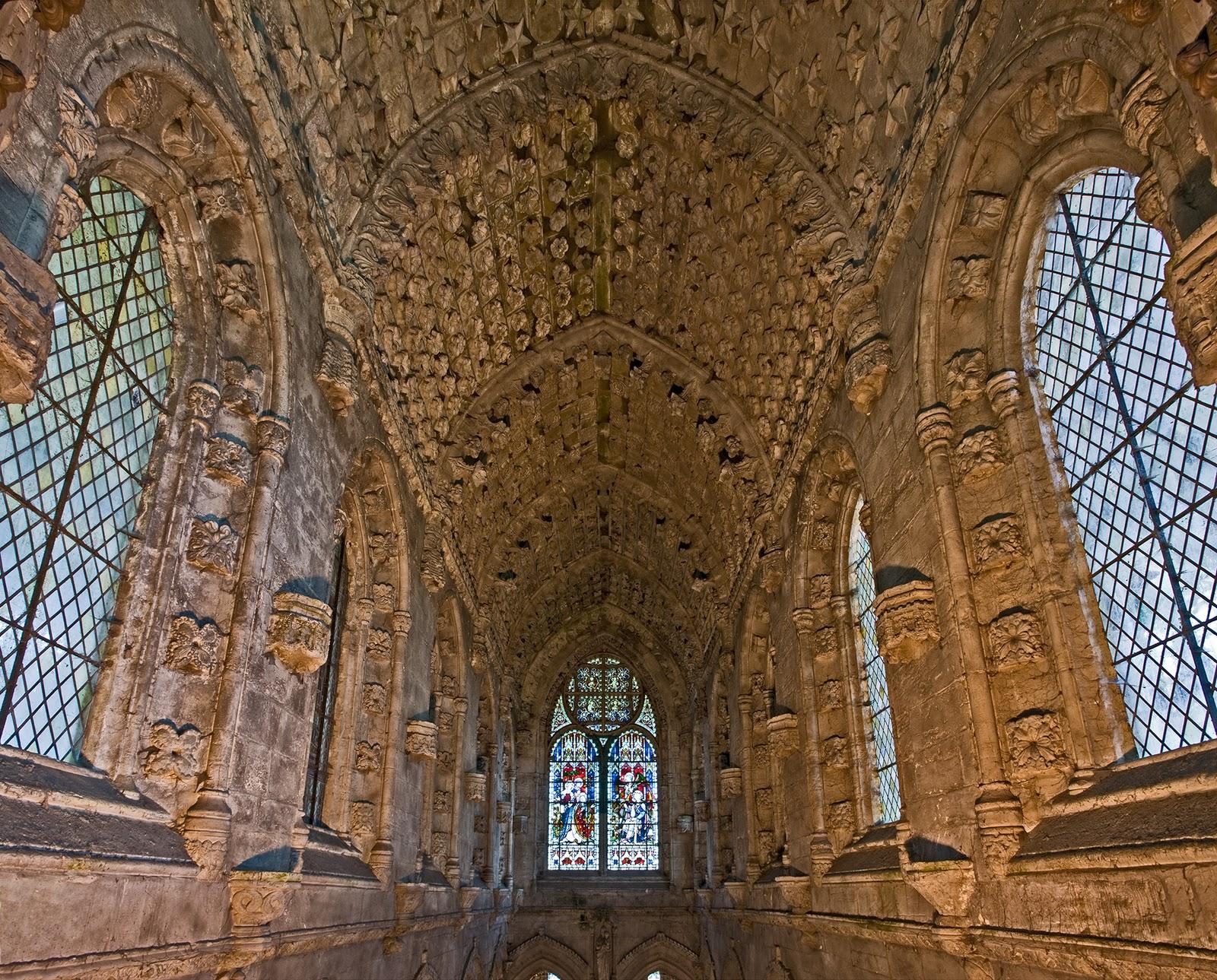 Tosh Ma Haul Rosslyn Chapel Roslyn Scotland