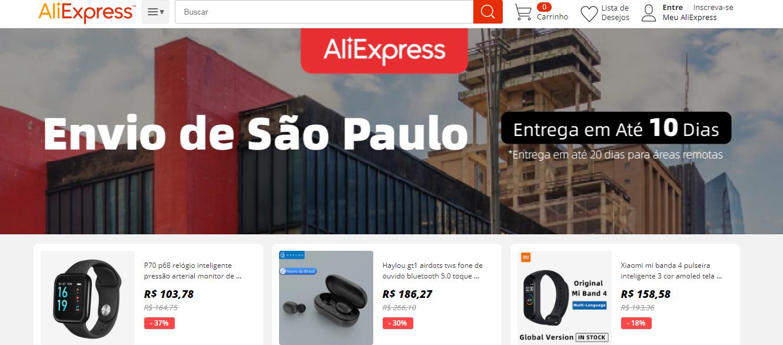 Cupom AliExpress — Descubra Marcas Exclusivas