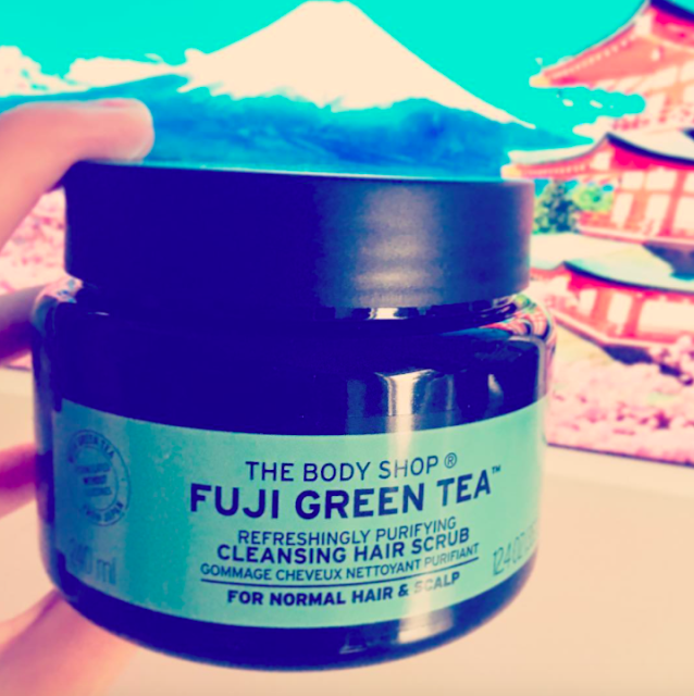 The Body Shop Fuji Green Tea Scrub