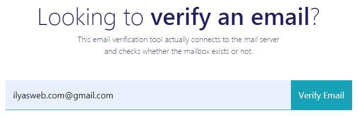 cara cek email aktif atau tidak