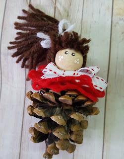Bambolina natalizia