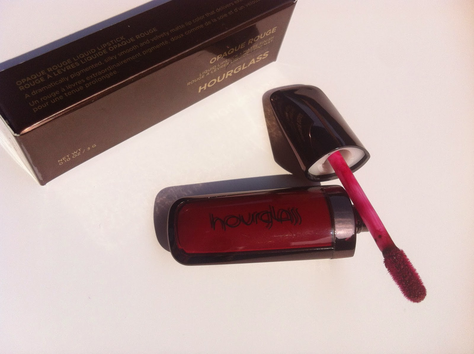 hourglass cosmetics italia, opaque rouge liquid lipstick icon review recensione swatch