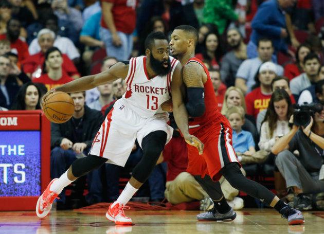 James Harden et les Rockets font face aux Blazers cette nuit