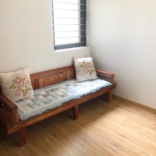 phòng khách chung cư saigon homes bình tân 1 phòng