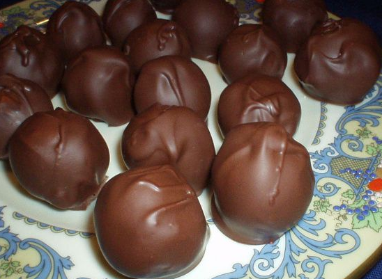 My Famous Chocolate Covered Cherries