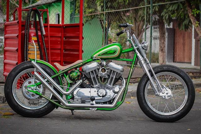 Harley Davidson By Queen Lekha Choppers Hell Kustom