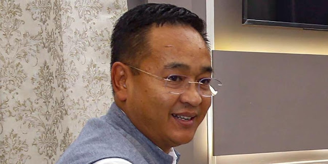 Sikkim Chief Minister Prem Singh Tamang