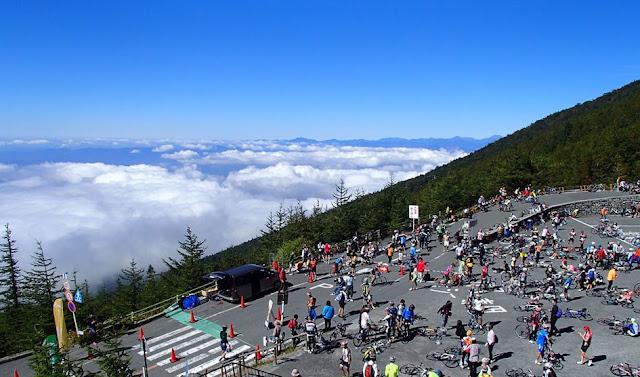 King of Hill Climb, Mt. Fuji, Fujinomiya City, Shizuoka Pref.