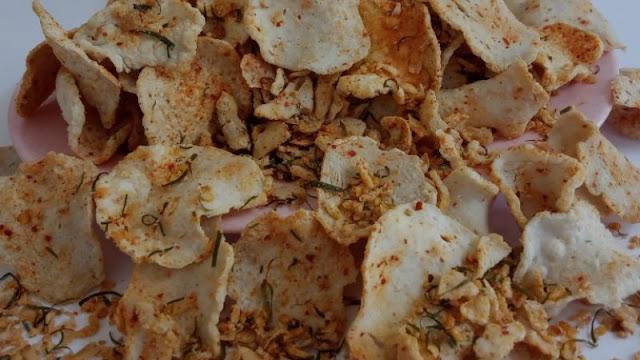 Cara membuat basreng kering (keripik) daun Jeruk