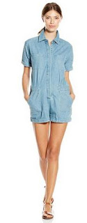 Greylin Women's Lia Denim Romper