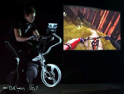 Ciclismo Indoor Simulador