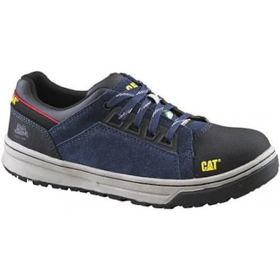 Sepatu Kets Safety Caterpillar Concave ST Original Navy