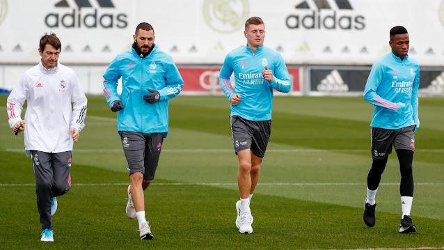أخبار سارة في تدريبات ريال مدريد