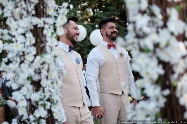 Cresce em 10% o número de casamentos Gays no Brasil