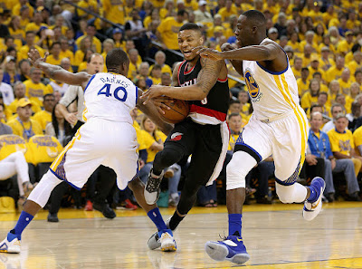 Trail Blazers vs Warriors Game 2