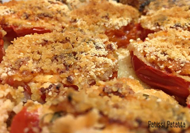 recette de tomates farcies végétariennes, tomates farcies, tomates du jardin, farce végétarienne, plat végétarien, plat principal, légumes d'été, farci de légumes végétarien, patissi-patatta.