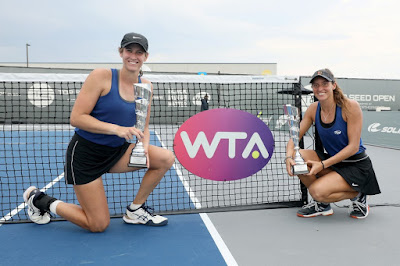 Luisa Stefani vence final de duplas do WTA de Lexington e entra para o top 40