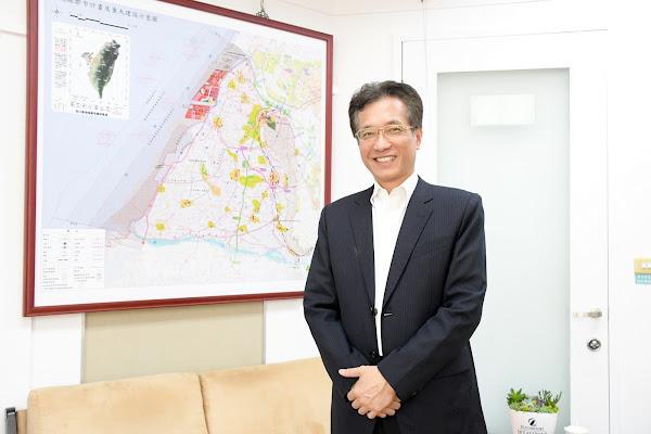 彰化副縣長林田富到職履新 產官學界經驗豐富