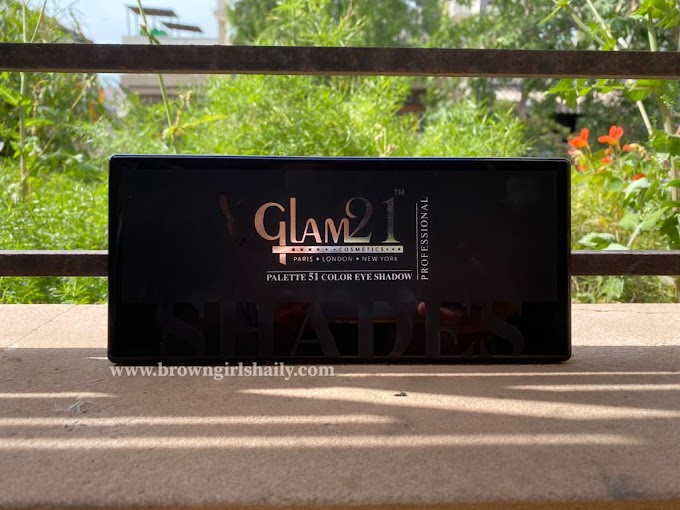 Glam 21 51 Color Eye Shadow Palette Review   Amazon