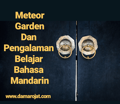 Meteor Garden Dan Pengalaman Belajar Bahasa Mandarin