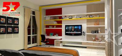 rak tv kamar tidur minimalis, desain rak tv madiun, jual rak tv madiun, jasa pembuatan rak tv madiun, harga rak tv madiun