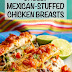 Cheesy Mexican Stuffed Chicken Breasts Recipe