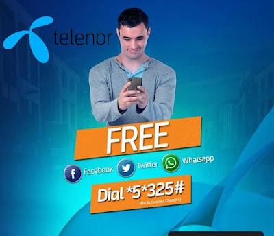 Telenor free Facebook code