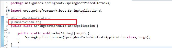 Spring Boot 2 - Scheduling Tasks