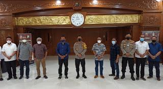 Kapolda Jatim Bersinergi dengan  PWI Perangi Berita Hoax di Wilayah Jatim
