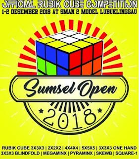 Kompetisi Official Sumsel Open 2018 yang terpaksa harus dibatalkan dikarenakan beberapa hal yang tidak diinginkan
